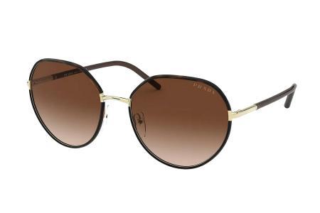 Prada 65XS 2AU-6S1 Gold / Havanna Sonnenbrille