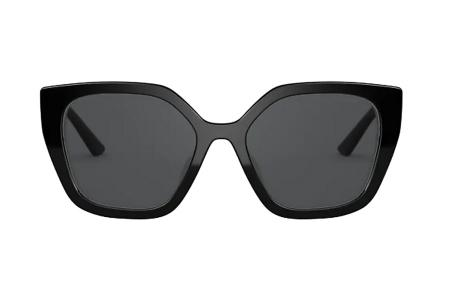 Prada 24XS YC4-5S0 Black Ivory Sonnenbrille