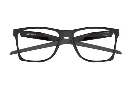 Oakley Activate OX 8173-01 Satin Black Brille