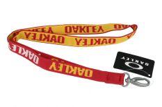 Oakley Schlüsselanhänger Rot/Gelb 99289ORT-40L